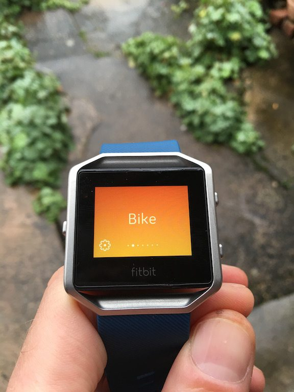 TitaniumGeek IMG 4010 FitBit Blaze review Cycling Gear Reviews Heart Rate Monitors  steps smart watch smart notifications running optical HRM HRM Fitbit cycling calorie counter Blaze activity tracker   Image of IMG 4010