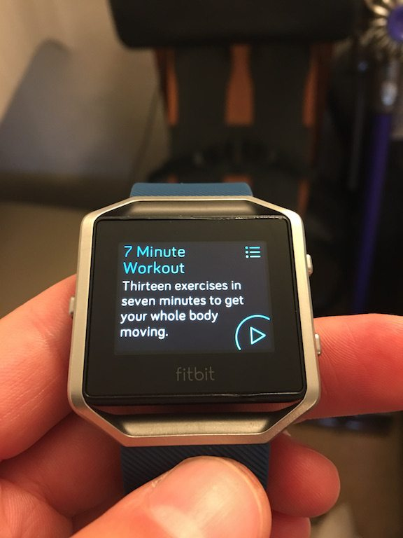 TitaniumGeek IMG_4018 FitBit Blaze review steps smart watch smart notifications running optical HRM HRM Fitbit cycling calorie counter Blaze activity tracker