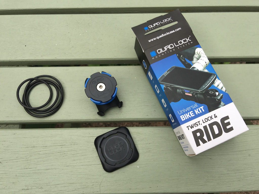 TitaniumGeek IMG_4036-1-1024x768 Quad Lock Universal Bike Kit Review | Zwift Gear Test Zwift iOS Zwift Gear Test review iphone GPS cycling bike mount