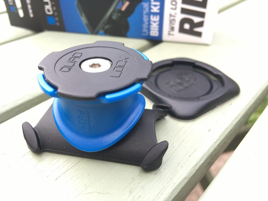 TitaniumGeek IMG_4040-1024x768 Quad Lock Universal Bike Kit Review | Zwift Gear Test Zwift iOS Zwift Gear Test review iphone GPS cycling bike mount