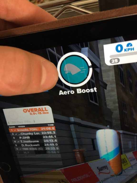 TitaniumGeek IMG_4176 Zwift iOS Game App review - Full Zwift in your pocket!! Zwift iOS Game app Zwift iOS Zwift TeamX riding iphone ipad cycling bluetooth sensors ANT+