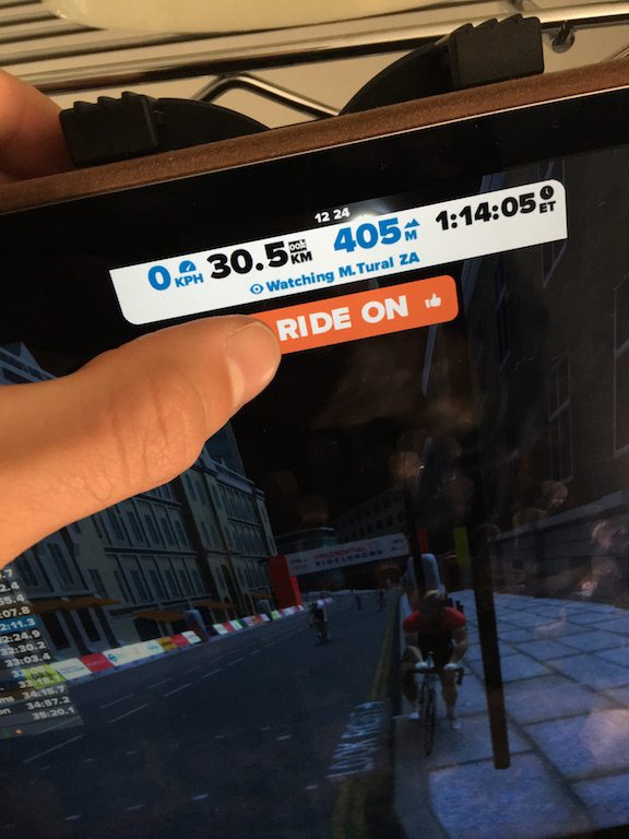 TitaniumGeek IMG 4203 Zwift iOS Game App review   Full Zwift in your pocket!! Cycling Running Zwift  Zwift iOS Game app Zwift iOS Zwift TeamX riding iphone ipad cycling bluetooth sensors ANT+   Image of IMG 4203