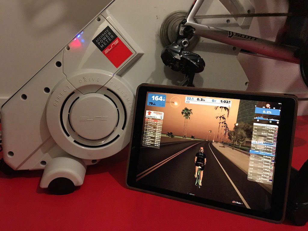 TitaniumGeek IMG 5148 1024x768 Elite Drivo Turbo Trainer Review | Zwift Gear Test Cycling Gear Reviews Smart Trainers Zwift  Zwift Gear Test Wahoo KICKR Wahoo Turbo Trainer TacX Neo Tacx powertap power meter Elite Drivo Turbo Drivo direct drive   Image of IMG 5148 1024x768