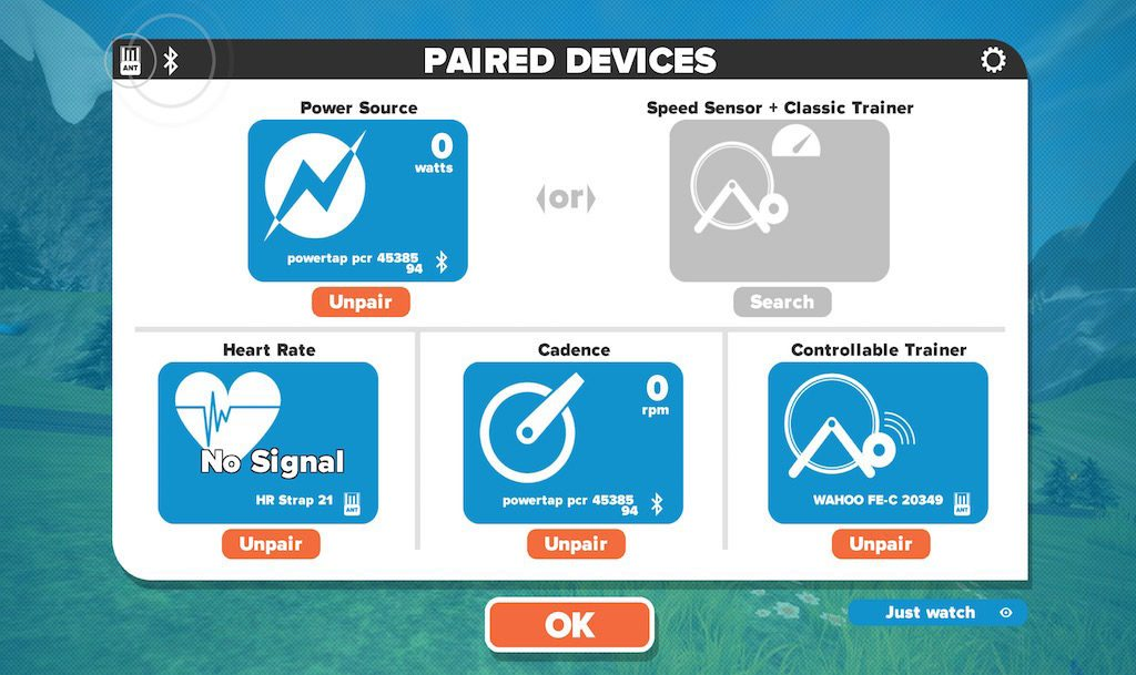 TitaniumGeek Screen-Shot-2016-09-16-at-18.11.04-1024x609 PowerTap C1 Power Meter Review | Zwift Gear Tests! Zwift Gear Test Zwift Wahoo Elemnt Wahoo Stages RideLondon powertap power meter garmin Vector 2 cycling chain ring Bike