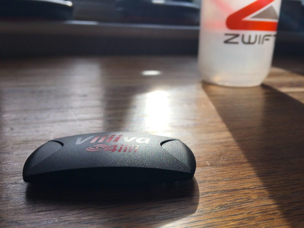 TitaniumGeek IMG 4923 1024x768 4iiii Viiiiva Heart Rate Monitor, ANT+ to Bluetooth Smart Bridge Review | Zwift Gear Tests Cycling Gear Reviews Heart Rate Monitors Running Zwift  Zwift iOS Zwift Gear Test Zwift powermeter HRM Heart rate monitor cycling bluetooth ANT+ bridge ANT+ 4iiii   Image of IMG 4923 1024x768
