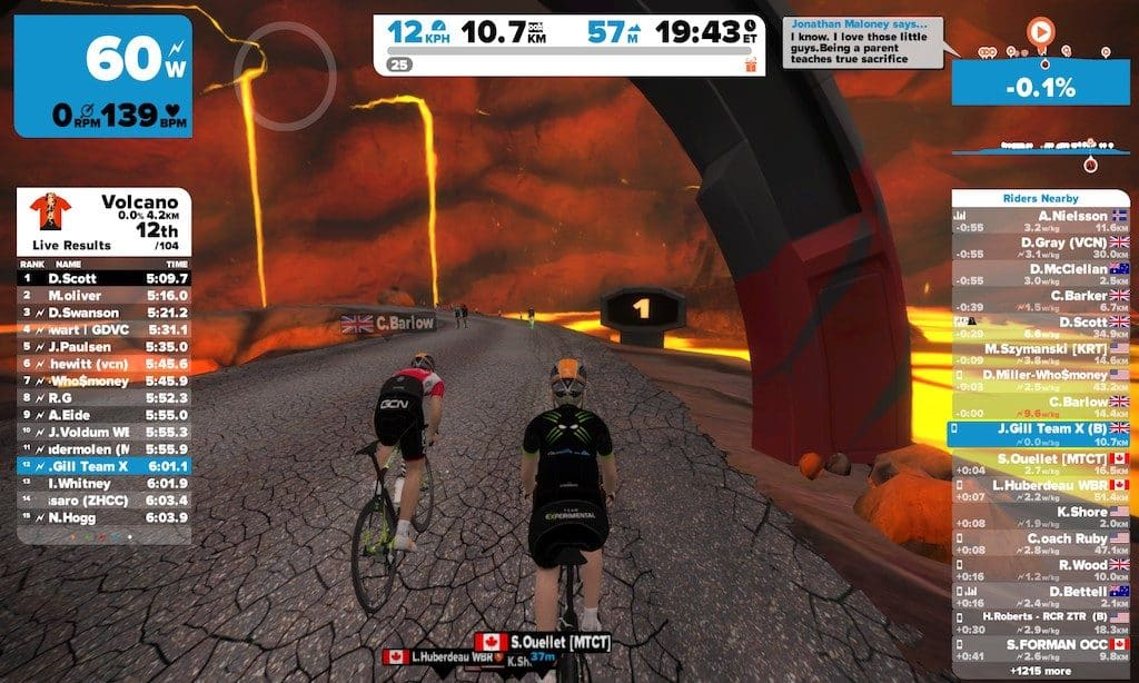 TitaniumGeek 2017-01-23_21170982-1024x614 Zwift User Manual - The Unofficial Guide to Zwift! Zwift phone app Zwift manual Zwift user manual updates manual ios Gear cycling android