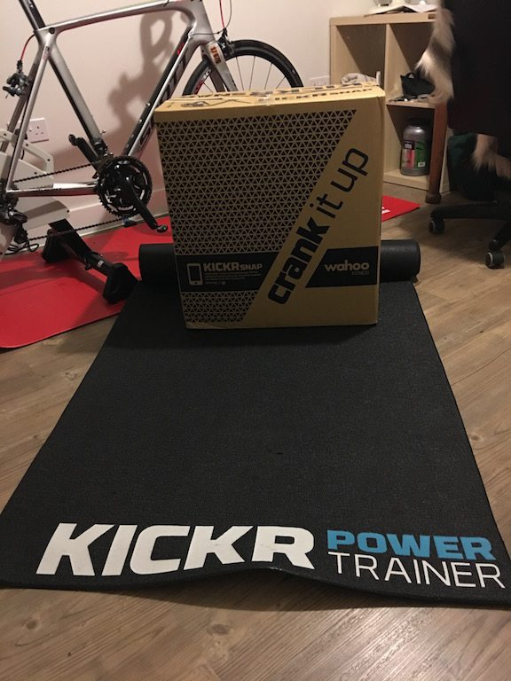 TitaniumGeek IMG 6087 Wahoo KICKR SNAP Review | Zwift Gear Test Cycling Gear Reviews Smart Trainers Zwift  Zwift Gear Test Zwift Wahoo Turbo Trainer training KICKR SNAP KICKR cycling   Image of IMG 6087