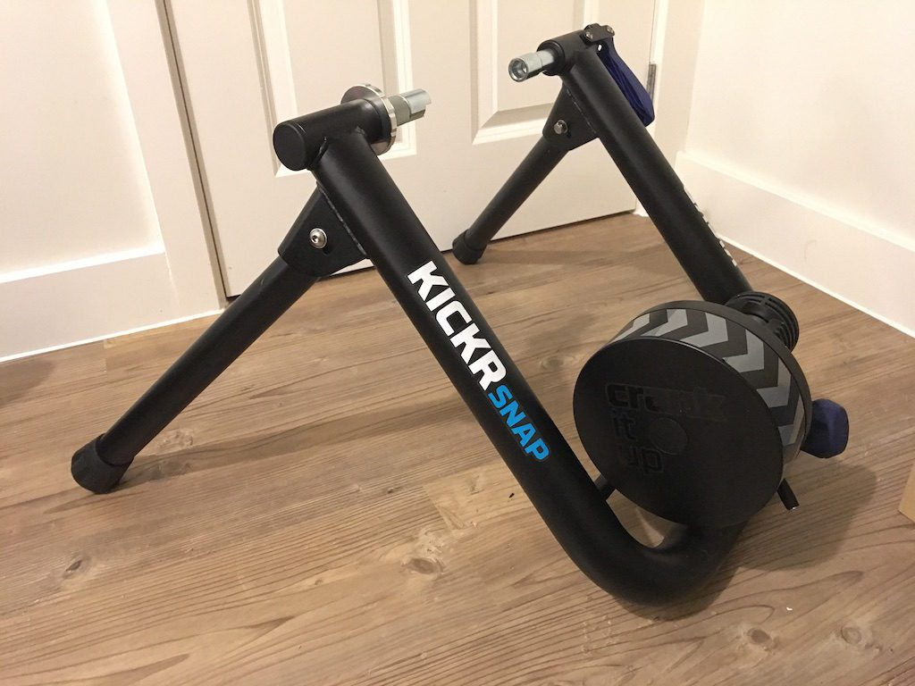 TitaniumGeek IMG 6917 1024x768 Wahoo KICKR SNAP Review | Zwift Gear Test Cycling Gear Reviews Smart Trainers Zwift  Zwift Gear Test Zwift Wahoo Turbo Trainer training KICKR SNAP KICKR cycling   Image of IMG 6917 1024x768
