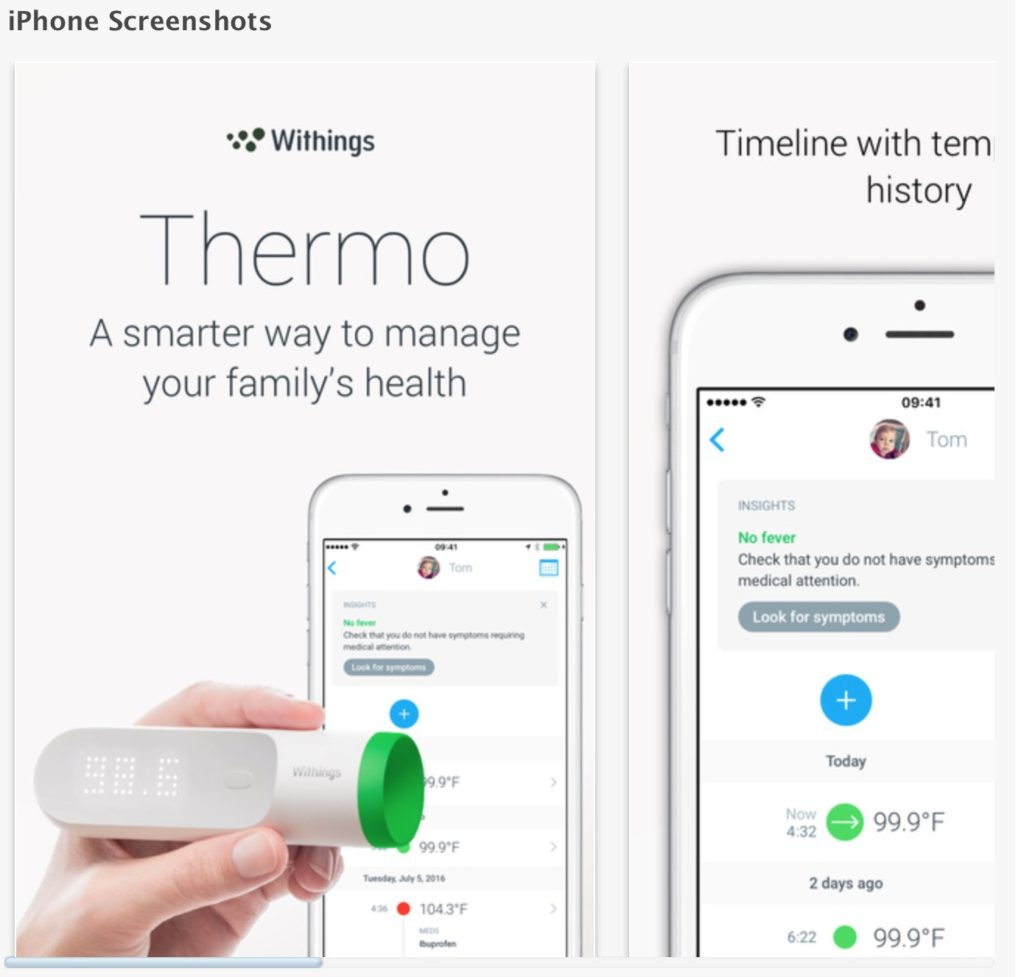 TitaniumGeek Screen Shot 2016 11 21 at 08.32.16 1024x977 Withings Thermo Smart Thermometer Review   A Medical Perspective Gear Reviews Medical Journals  withings Thermometer Temporal artery Temperature health fever FDA family health body monitoring   Image of Screen Shot 2016 11 21 at 08.32.16 1024x977