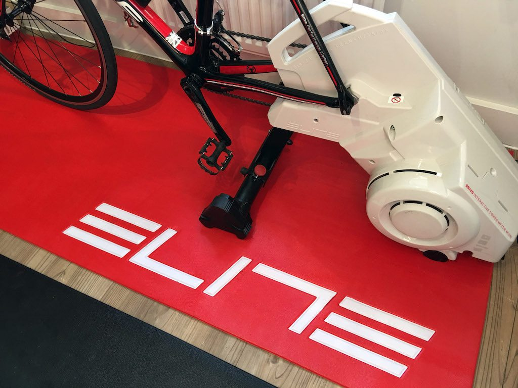 TitaniumGeek IMG 0395 1024x768 Which Turbo Trainer Mat is Best for Zwift? Zwift Gear Tests Cycling Gear Reviews Zwift  zwift cave Zwift Wahoo Turbo Trainer turbo mats Tacx mats elite Cycleops   Image of IMG 0395 1024x768
