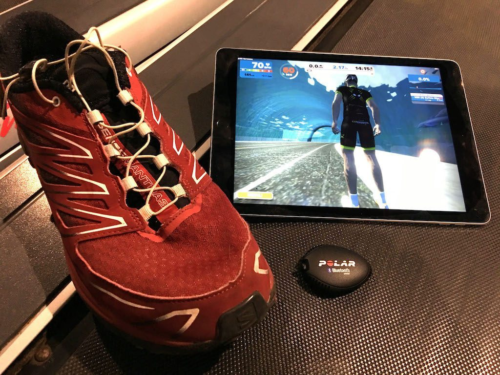 TitaniumGeek IMG 6412 copy 1024x768 Zwift Running iOS Review   Your treadmill just got upgraded!   TitaniumGeek Gear Reviews Running Zwift  zwift running Zwift iOS Zwift treadmill running iphone ios footpod foot pod cadence bluetooth   Image of IMG 6412 copy 1024x768