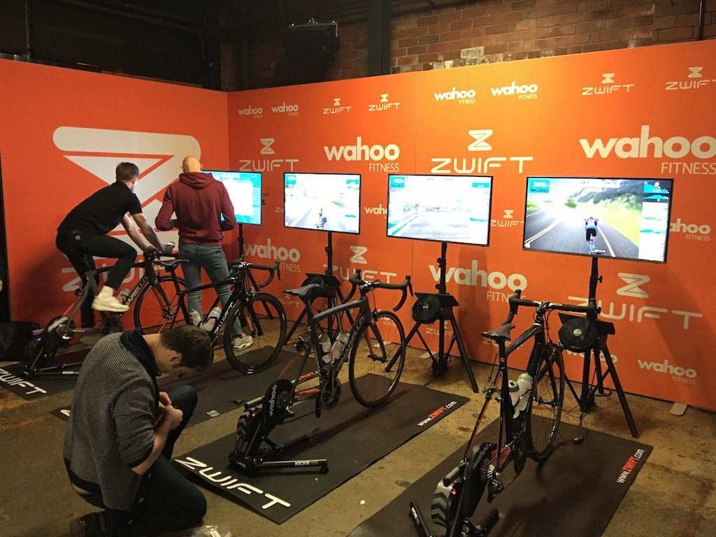 TitaniumGeek IMG 7441 1024x768 Which Turbo Trainer Mat is Best for Zwift? Zwift Gear Tests Cycling Gear Reviews Zwift  zwift cave Zwift Wahoo Turbo Trainer turbo mats Tacx mats elite Cycleops   Image of IMG 7441 1024x768