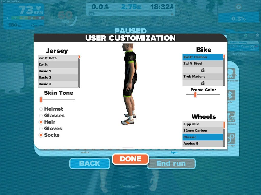 TitaniumGeek IMG_9154.large_-1024x768 Zwift Running iOS Review - Your treadmill just got upgraded! - TitaniumGeek zwift running Zwift iOS Zwift treadmill running iphone ios footpod foot pod cadence bluetooth