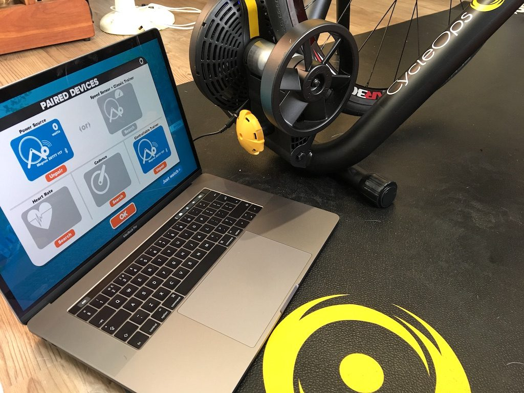 TitaniumGeek IMG 9916 1024x768 Cycleops Magnus Trainer Review | Zwift Gear Test Cycling Gear Reviews Smart Trainers Zwift  Zwift Gear Test Zwift Wahoo Turbo Start Trainer SNAP magnus KICKR SNAP KICKR Hammer Cycleops   Image of IMG 9916 1024x768