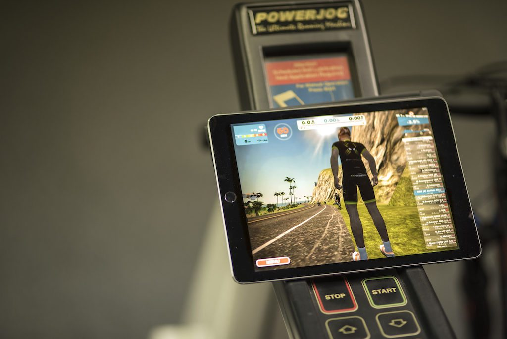 TitaniumGeek con_-1024x684 Zwift Running iOS Review - Your treadmill just got upgraded! - TitaniumGeek zwift running Zwift iOS Zwift treadmill running iphone ios footpod foot pod cadence bluetooth