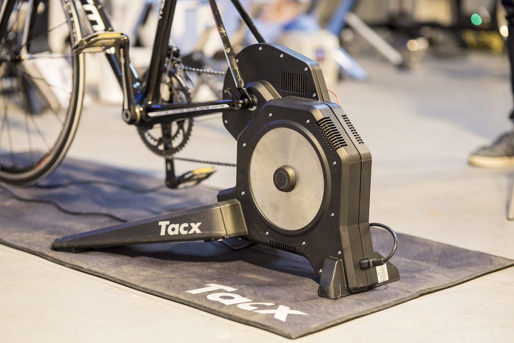 TitaniumGeek con  1 1024x684 Tacx Flux Smart Turbo Trainer Review   Zwift Gear Test | TitaniumGeek Cycling Gear Reviews Smart Trainers Zwift  Zwift Gear Test Zwift Turbo Trainer Turbo Tacx Smart trainer Neo indoor trainer flux Edco Hub edco cycling   Image of con  1 1024x684