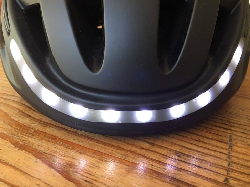 TitaniumGeek FullSizeRender 6 1024x768 Lumos Smart Helmet Review   Brakes, Indicators and Lights! Cycling Gear Reviews  Smart lights See.Sense safety Lumos lights kickstarter helmet cycling bike helmet app   Image of FullSizeRender 6 1024x768
