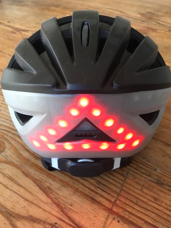 TitaniumGeek FullSizeRender 7 Lumos Smart Helmet Review   Brakes, Indicators and Lights! Cycling Gear Reviews  Smart lights See.Sense safety Lumos lights kickstarter helmet cycling bike helmet app   Image of FullSizeRender 7
