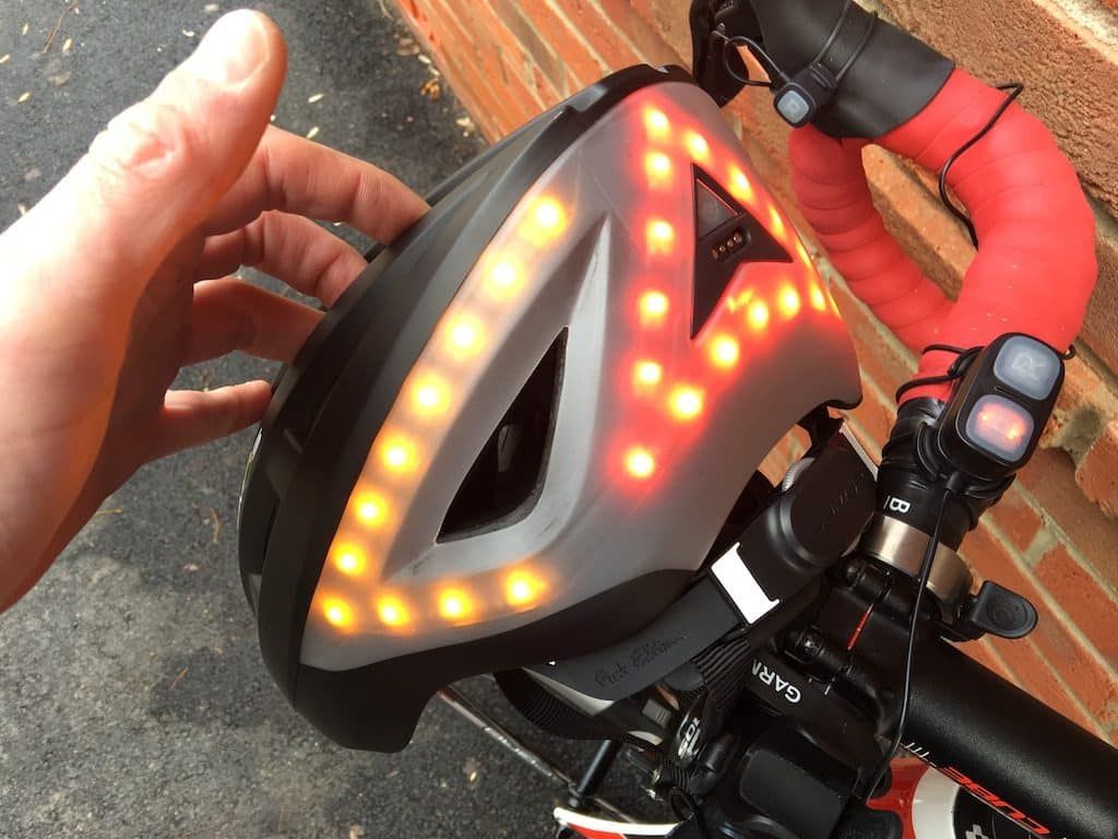 TitaniumGeek IMG 0117 1024x768 Lumos Smart Helmet Review   Brakes, Indicators and Lights! Cycling Gear Reviews  Smart lights See.Sense safety Lumos lights kickstarter helmet cycling bike helmet app   Image of IMG 0117 1024x768