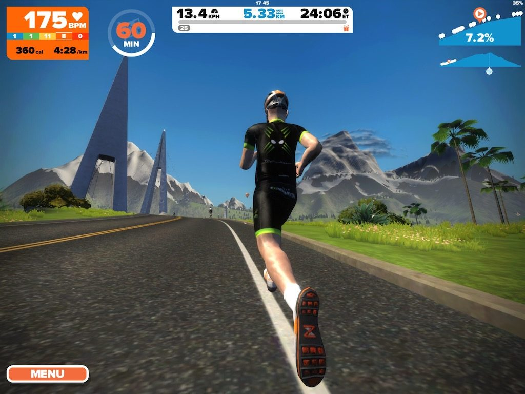 TitaniumGeek IMG 0396 1024x768 Treadmill Smart Speed App Review   Running Pace Phone app for with Zwift Running Running Zwift  zwift running Zwift treadmill running pace iphone ios footpod foot pod   Image of IMG 0396 1024x768