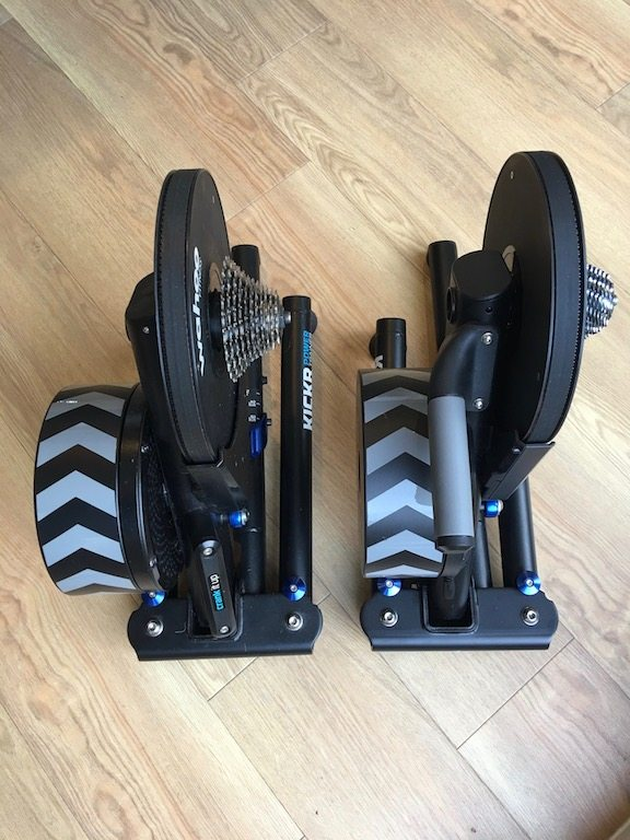 TitaniumGeek IMG 1872 Wahoo KICKR Review (Gen 2) | Zwift Gear Test   Kings New Handle Cycling Gear Reviews Smart Trainers Zwift  ZwiftGearTest Zwift Gear Test Zwift Wahoo Turbo Trainer Turbo training Smart trainer KICKR indoor cycling cycling   Image of IMG 1872
