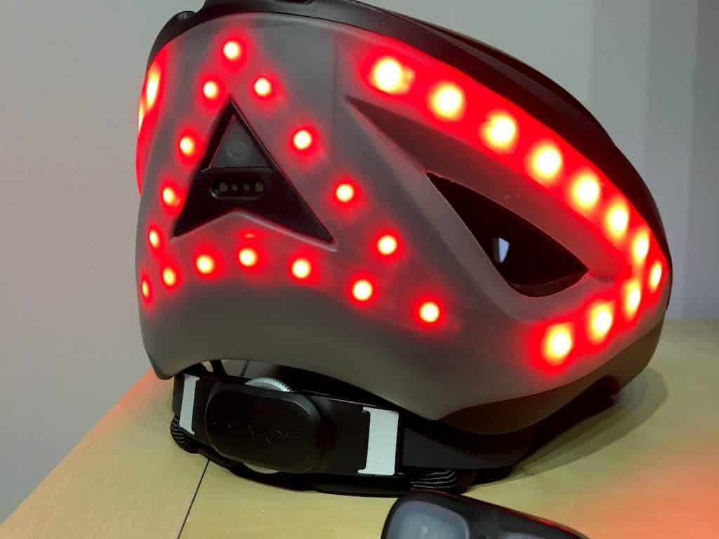 TitaniumGeek IMG_2569-1024x768 Lumos Smart Helmet Review - Brakes, Indicators and Lights! Smart lights See.Sense safety Lumos lights kickstarter helmet cycling bike helmet app