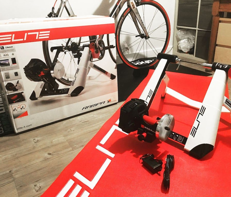 TitaniumGeek IMG 7521 Elite Rampa Turbo Trainer Review | Zwift Gear Test Cycling Gear Reviews Smart Trainers Zwift  zwift gear review Zwift Turbo Trainer Smart trainer rampa power meter power estimator elite cycling bike trainer   Image of IMG 7521