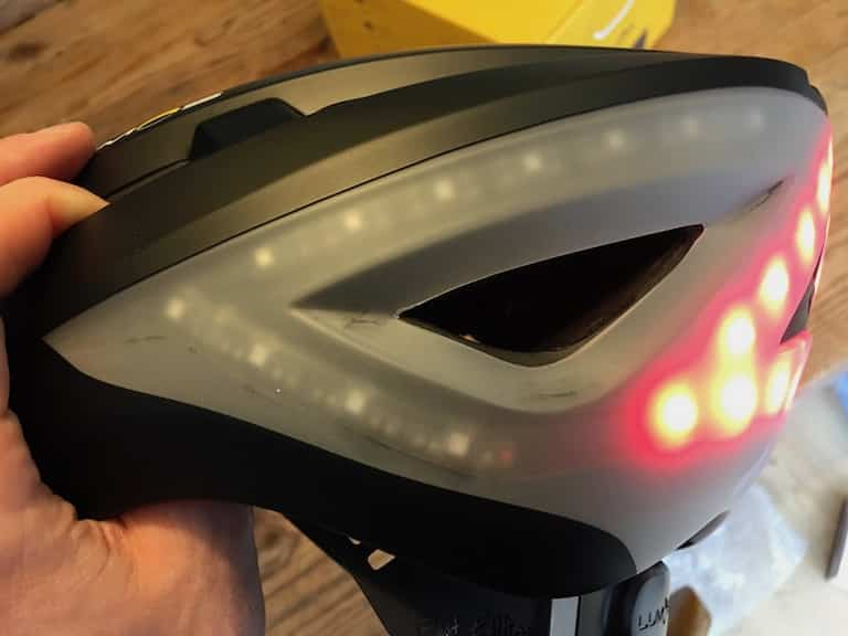 TitaniumGeek IMG 8719 Lumos Smart Helmet Review   Brakes, Indicators and Lights! Cycling Gear Reviews  Smart lights See.Sense safety Lumos lights kickstarter helmet cycling bike helmet app   Image of IMG 8719