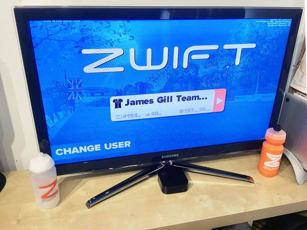 Zwift Apple TV