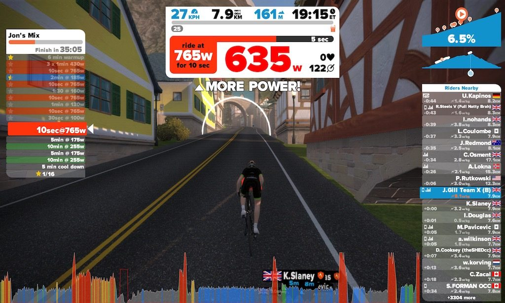 TitaniumGeek IMG 1690 1024x614 Wahoo KICKR Desk Review   Cycling Zwift    Image of IMG 1690 1024x614