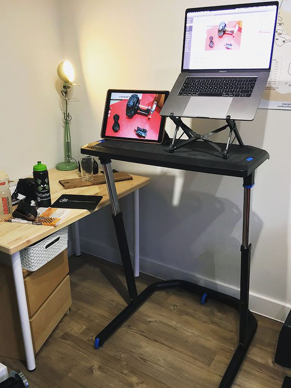TitaniumGeek IMG 2851 Wahoo KICKR Desk Review   Cycling Zwift    Image of IMG 2851