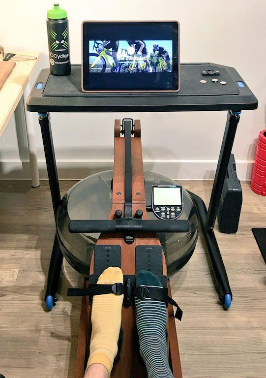 TitaniumGeek IMG_2890-copy Wahoo KICKR Desk Review - A standing desk that you can also ride your bike at Zwift Wahoo KICKR cycling