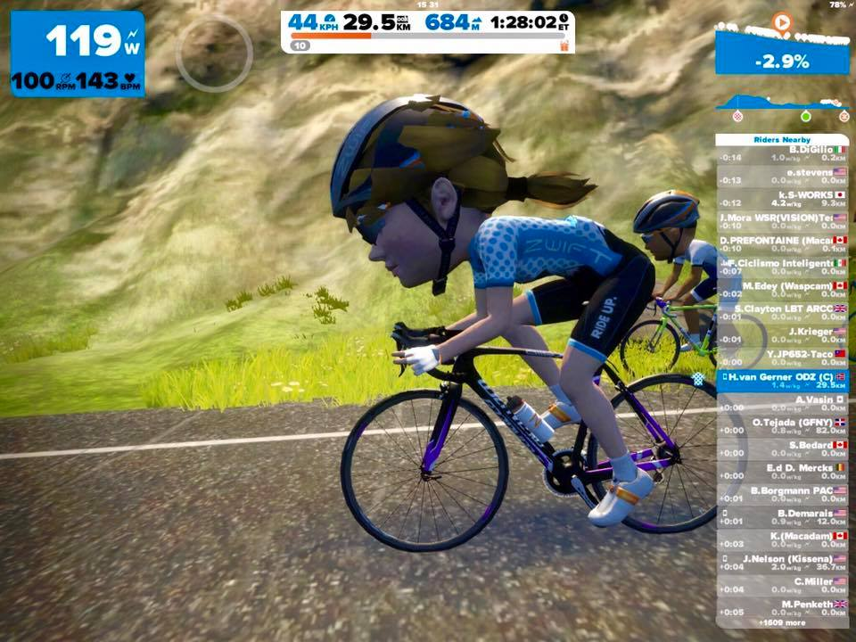 TitaniumGeek 17425889_721001508080415_7813506064223319372_n Zwift User Manual - The Unofficial Guide to Zwift! Zwift phone app Zwift manual Zwift user manual updates manual ios Gear cycling android