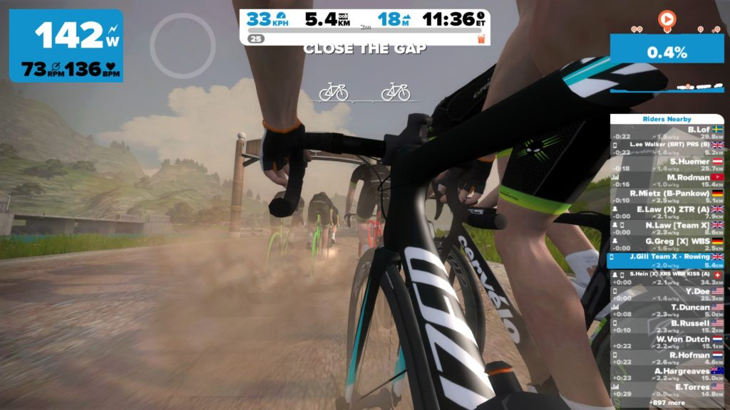 TitaniumGeek 2017 04 07 19111435 1024x576 Zwift User Manual   The Unofficial Guide to Zwift! Cycling Zwift  Zwift phone app Zwift manual Zwift user manual updates manual ios Gear cycling android   Image of 2017 04 07 19111435 1024x576