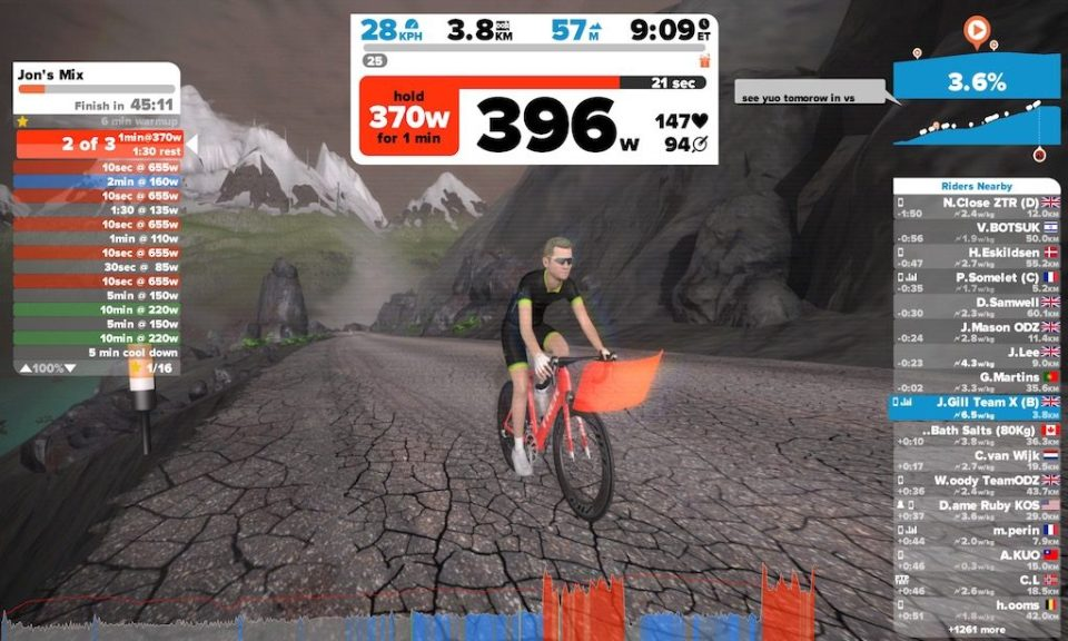 TitaniumGeek IMG 2877 1024x614 Garmin Vector 3 Power Meter Pedal Review   Zwift Gear Test Cycling Gear Reviews Power Meters  Zwift Gear Test Zwift Vector powermeter pedal garmin cyclig   Image of IMG 2877 1024x614