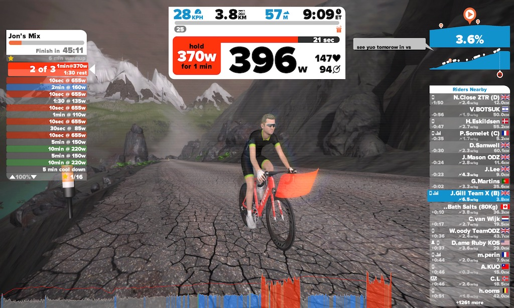 TitaniumGeek IMG 2877 VeloReality Lynx Turbo Trainer | Zwift Gear Test Cycling Gear Reviews Smart Trainers Zwift  Zwift Gear Test Zwift Turbo Trainer training Smart trainer power meter Gear FE C Cycling computer cycling ANT+   Image of IMG 2877