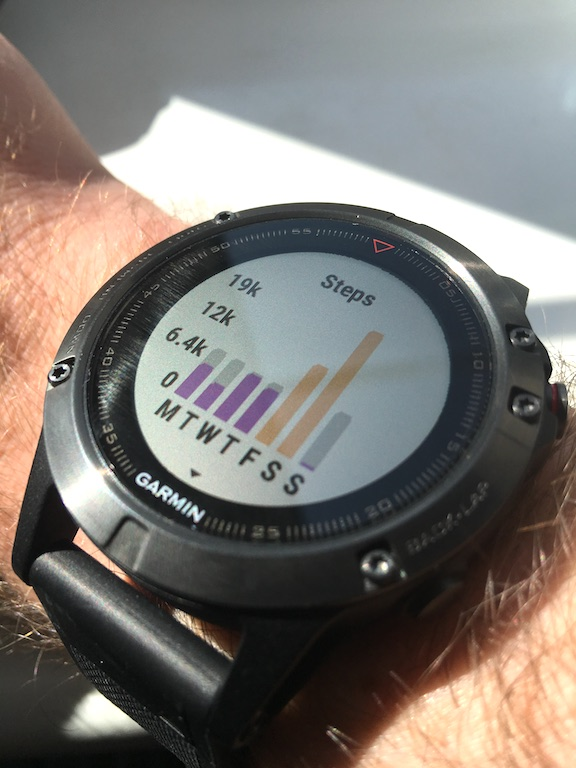 TitaniumGeek IMG 3237 Garmin Fenix 5 Review   A New Smart Watch King, But For One Mistake Cycling Gear Reviews Heart Rate Monitors Running  watch training swimming Stryd smart watch running review Optical Heart Rate HRM heart rate GPS garmin cycling bluetooth bike light activity tracker   Image of IMG 3237