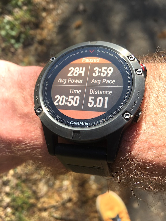 TitaniumGeek IMG_3663 Garmin Fenix 5 Review - A New Smart Watch King, But For One Mistake watch training swimming Stryd smart watch running review Optical Heart Rate HRM heart rate GPS garmin cycling bluetooth bike light activity tracker