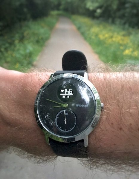 TitaniumGeek FullSizeRender Withings Steel HR Review   Digital Style! Gear Reviews Heart Rate Monitors Running  Withings Steel HR withings watch walking swimming steps step tracker step counter running optical HRM Optical HR HRM analogue   Image of FullSizeRender