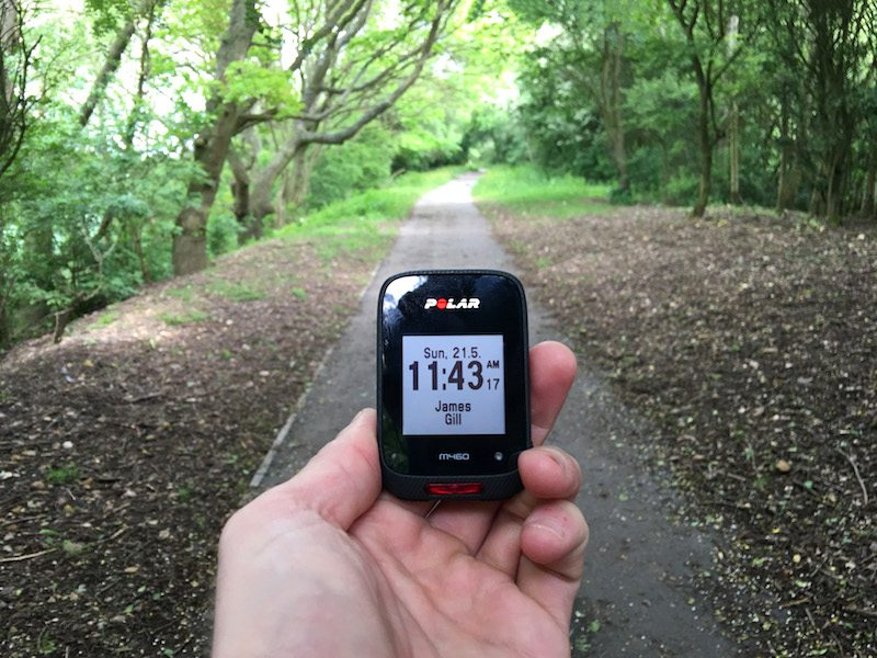 TitaniumGeek IMG_7076-2 Polar M460 Cycling GPS Computer  Review - With Strava Live Segments Triathlon strava segments Strava running Polar multisport GPS Cycling computer cycling bluetooth ANT+