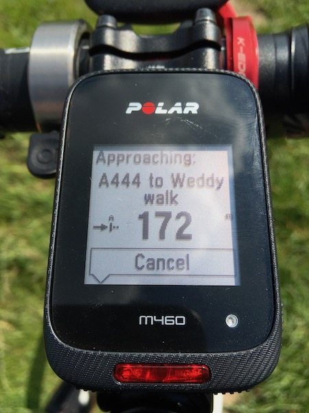 TitaniumGeek IMG_7229 Polar M460 Cycling GPS Computer  Review - With Strava Live Segments Triathlon strava segments Strava running Polar multisport GPS Cycling computer cycling bluetooth ANT+