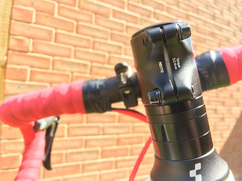 TitaniumGeek IMG_8651 Redshift Shockstop Review -  Bike Stem Suspension  suspension stem shockstop roadcycling redshift mountainbiking Gear cycling
