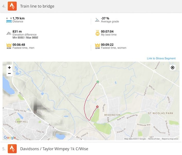 TitaniumGeek Screen-Shot-2017-06-14-at-14.02.56 Polar M460 Cycling GPS Computer  Review - With Strava Live Segments Triathlon strava segments Strava running Polar multisport GPS Cycling computer cycling bluetooth ANT+