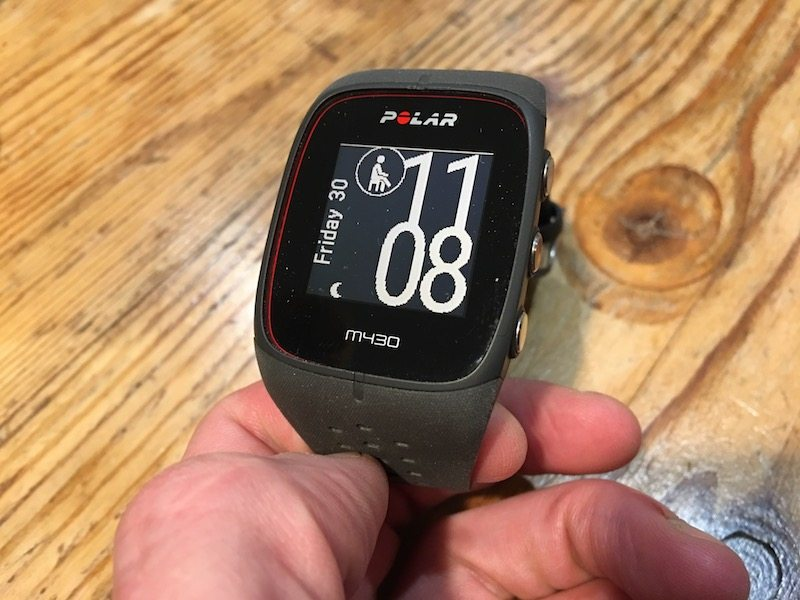 TitaniumGeek IMG 9207 Polar M430 GPS Running Watch Review Gear Reviews Heart Rate Monitors Running  running watch Polar optical HRM HRM cycling watch activity tracker   Image of IMG 9207