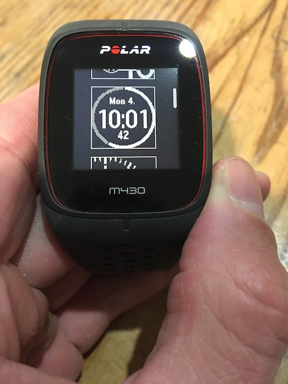 TitaniumGeek IMG 9209 Polar M430 GPS Running Watch Review Gear Reviews Heart Rate Monitors Running  running watch Polar optical HRM HRM cycling watch activity tracker   Image of IMG 9209