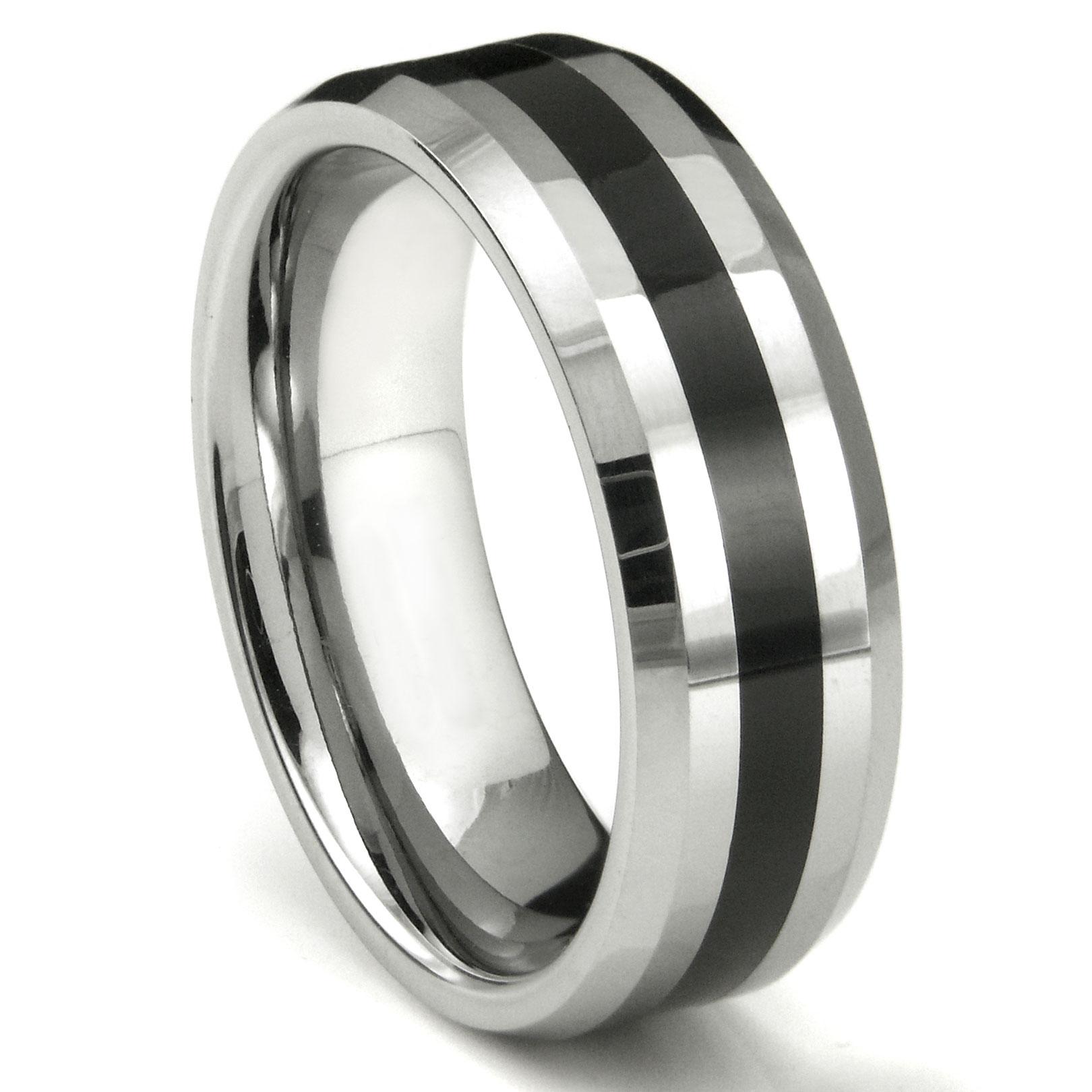 LONZO Tungsten Carbide Wedding Ring
