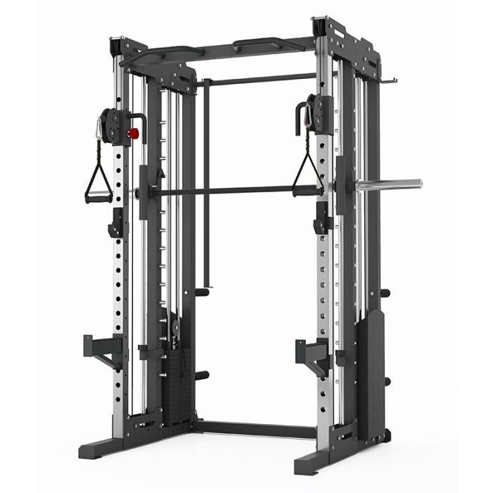 titanium strength commercial ft3 krafstation kabelzugstation dual pulley smith machine und rack