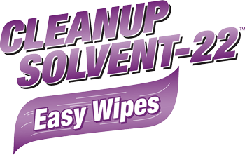 Cleanup Solvent-22 Easy Wipes