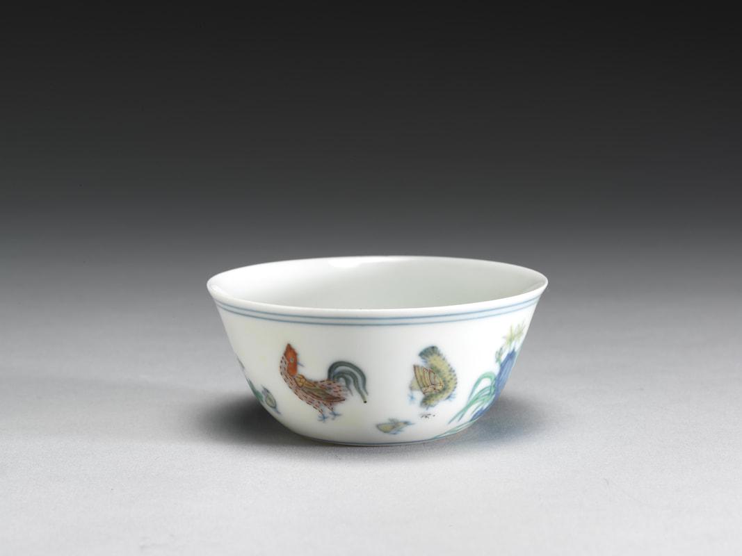 成化鬥彩雞缸杯 - Titans Antique & Arts 泰坦斯中國古董及藝術