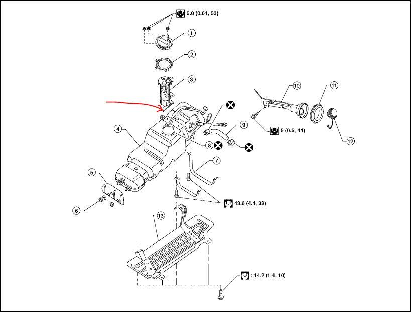 2004 Nissan Titan Fuel Pump ~ Perfect Nissan